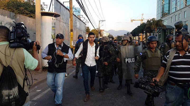 Honduras, stampa brutalmente aggredita dai militari