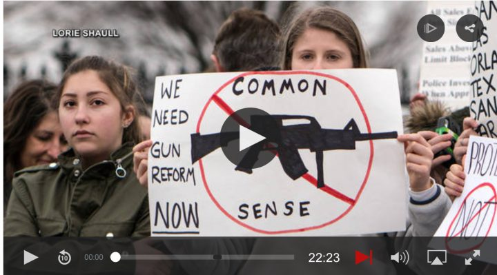 """As Students Demand Gun Control, Arms Manufacturers Continue Targeting """"Next Generation of Shooters"""""""