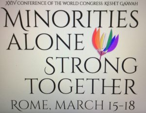Roma, XXIV Conferenza del World Congress of LGBT Jews