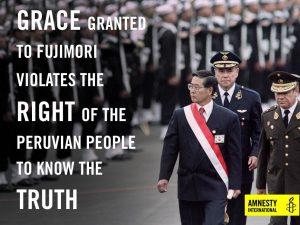 Fujimori, la gracia no se aplicará a la masacre de Pativilca