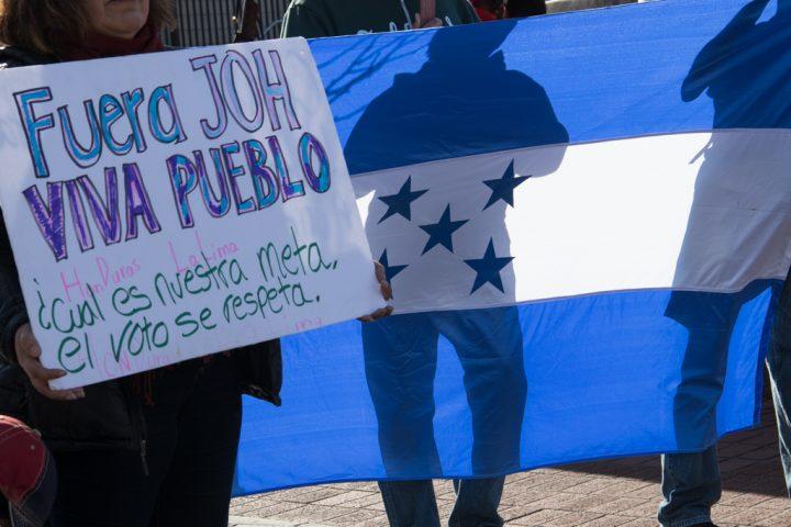 Denuncian al gobierno hondureño en la CIDH
