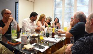 La Cámpora y el Partido Humanista chileno