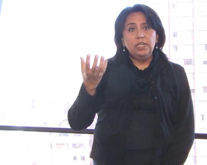 Cecilia Lazarte «No se ha identificado a nadie que pueda sustituir el liderazgo y la talla de Evo Morales»