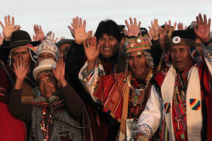 #21F and the process of change in Bolivia:  barely twelve years versus centuries of humiliation