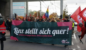 Oberösterreich stellt sich quer – Nein zu rechtsextremen Europa-Kongress!