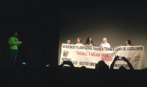 Movimientos sociales muestran músculo en Barcelona