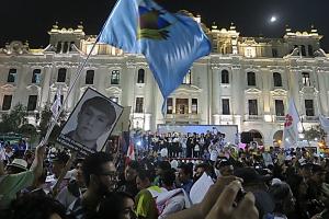 """En la quinta marcha contra el indulto a Fujimori: """"La presencia de ustedes me fortalece"""""""