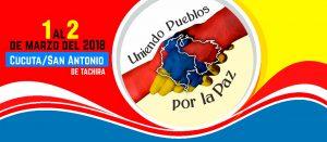 Frontera Colombia-Venezuela: Abrazatón ante amenazas de agresión