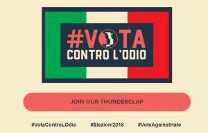 Azione di Women's March Italy e Women's March Global su Thunderclap per le Elezioni Italiane