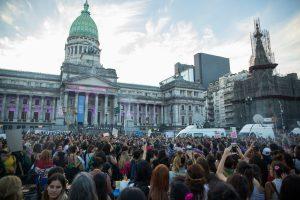 Paro Internacional de Mujeres desbordó las calles de Buenos Aires