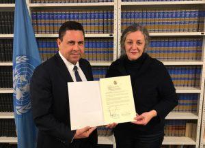 Η Βενεζουέλα υπογράφει τη Συνθήκη Απαγόρευσης Πυρηνικών Όπλων