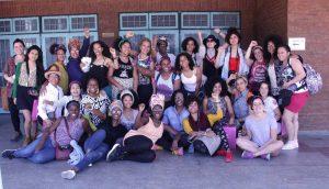 Las mujeres afro TAMBIÉN participan del 8M en Argentina