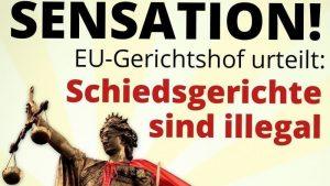 Europäischer Gerichtshof verbietet ISDS-Paralleljustiz zwischen EU-Staaten