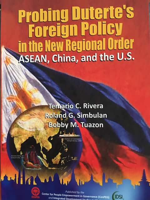 Probing Duterte's Foreign Policy in the New Regional Order, ASEAN, China and the US