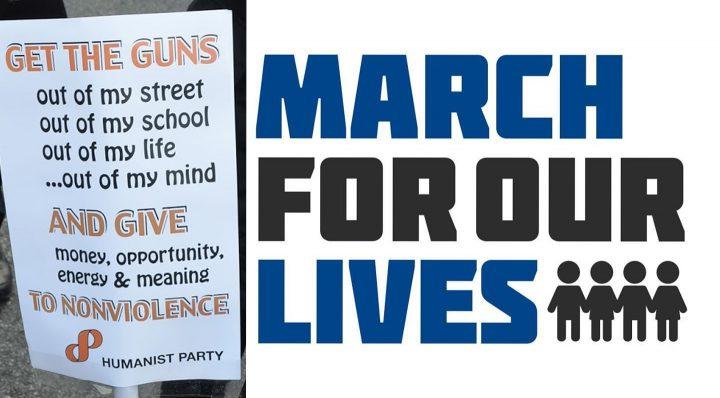 Οι Ανθρωπιστές υποστηρίζουν τους μαθητές και την «Πορεία για τη Ζωή μας»