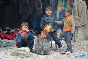 Unicef: 1 bambino su 5 vive in paesi in confitto in Medio Oriente e in nord Africa