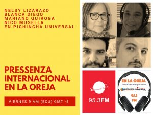 Pressenza Internacional En la Oreja 02/03/2018