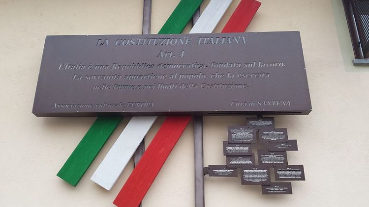 basi costituzionali costituzione italia