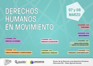 Comienza el ciclo «Derechos Humanos en Movimiento»