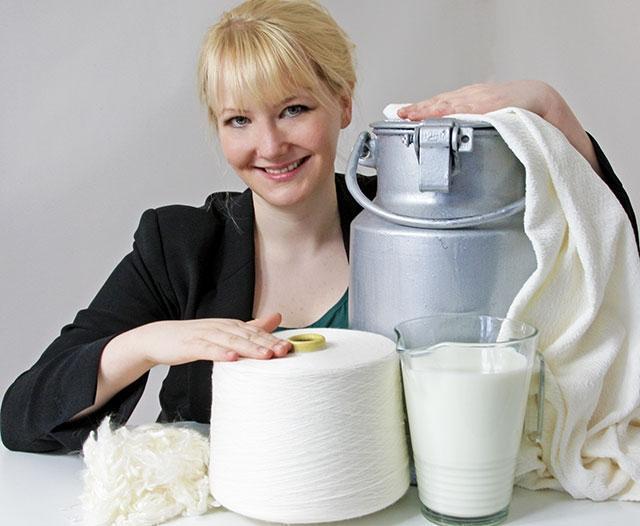 Τα βακτήρια, η ραπτομηχανή και η δημιουργία υφασμάτων από ληγμένο γάλα