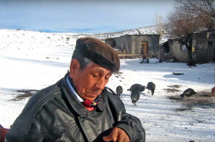 El lonko Don Sergio Nahuelpán