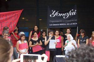El 8M reprimieron a privadas de libertad en Argentina