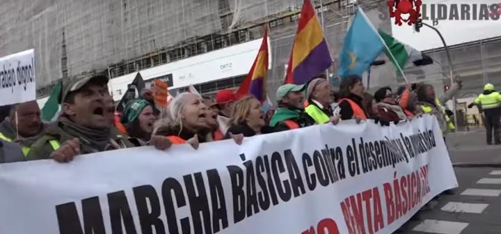La Marcha Básica llega a Madrid