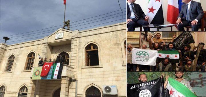 I terroristi lasciano Ghouta, i loro cugini islamisti invadono Afrin. Ma il mondo la vede altrimenti