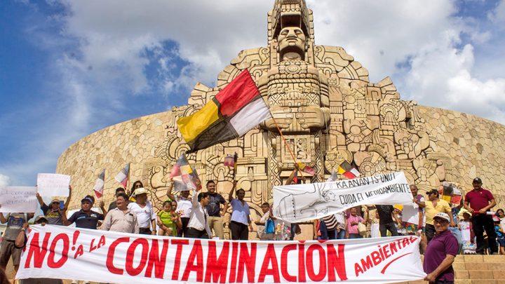 Solidaridad con el pueblo maya deHomún
