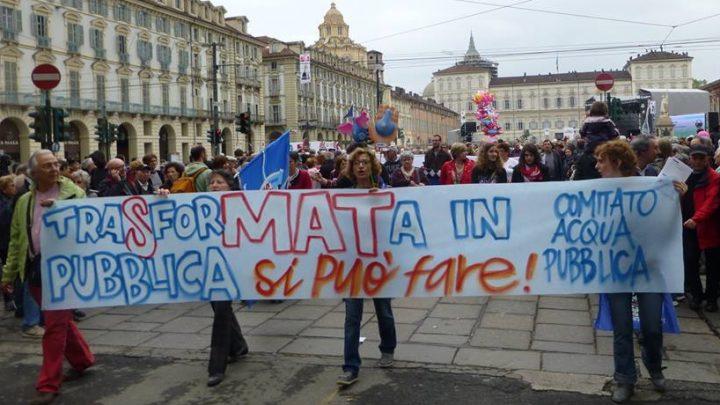 Acqua pubblica Torino, SMAT: Opacità contro trasparenza