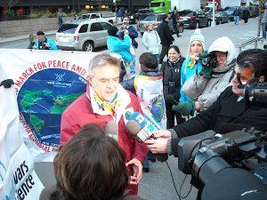 Forum Madrid: Mondo senza Guerre presenta la seconda Marcia per la Pace e la Nonviolenza