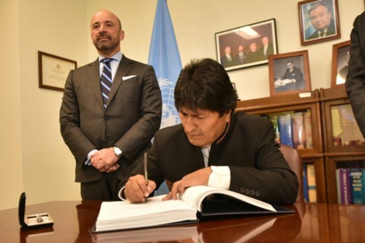 La Bolivia ha firmato il Trattato di Proibizione delle Armi Nucleari