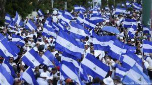 """""""Marsch für den Frieden"""" in Nicaragua"""