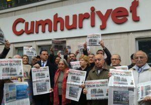 Articolo 21 in Turchia al processo Cumhuriyet, il 27 aprile la sentenza per 18 giornalisti