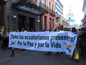 Gobierno de Ecuador: «no se tolerarán más actos de violencia contra la ciudadanía»