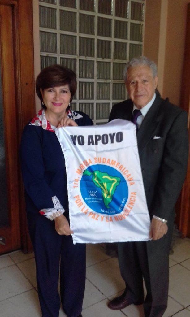 Bolivie : Marche sud-américaine pour la paix et la Nonviolence