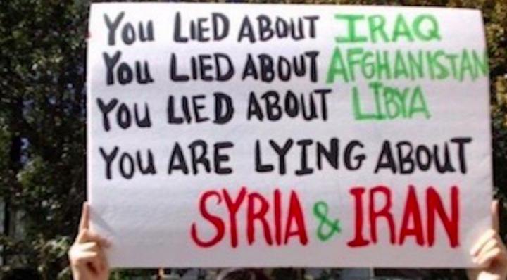 Siria y la propaganda de la prensa