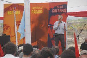 Homenaje a Nattino, Parada y Guerrero