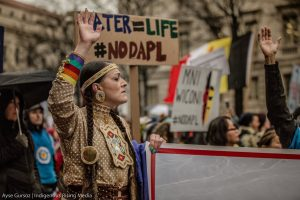 Indigenous Women's Delegation To Europe Continues Push For Fossil Fuel Divestment By Major Banks