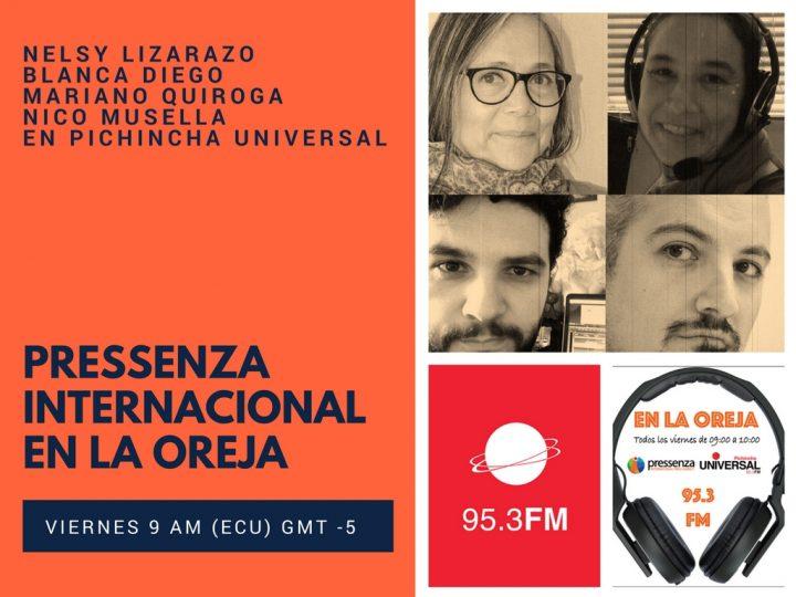 Pressenza Internacional En la Oreja 06/04/2018