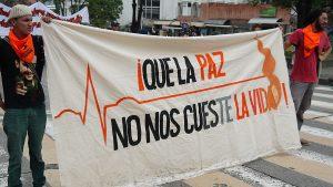 Líderes en Colombia: un panorama desalentador