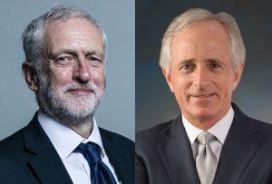 Corbyn v Corker: UK wants representation, US royalty