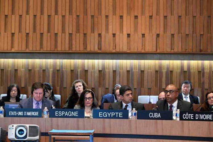 Cuba aboga en Unesco por un mundo de paz