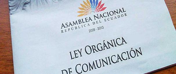 Ecuador: Ley Orgánica de Comunicación en el banquillo de los acusados