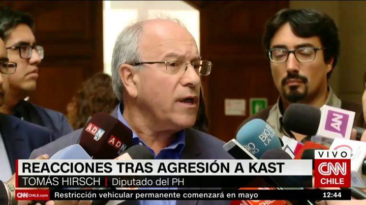 """Tomás Hirsch desmiente a J.A. Kast y dispara: """"No estoy disponible para validar a fascistas"""""""