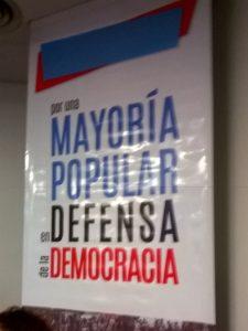 Por una nueva mayoría popular en defensa de la democracia en Argentina