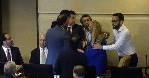 Frente Amplio se pronuncia sobre retiro de proyecto de reparación y dichos de Urrutia