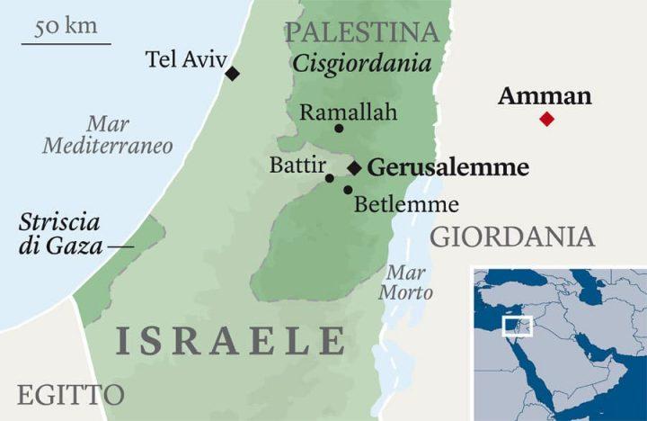 Cartina Politica Palestina.A Due Giorni Dalla Naqba I Palestinesi Della Diaspora Scendono In Piazza