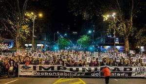 """""""Φτάνει η ατιμωρησία"""", φωνάζουν στην Ουρουγουάη"""