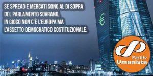 Ανθρωπιστικό Κόμμα Ιταλίας: επίθεση κατά της δημοκρατίας